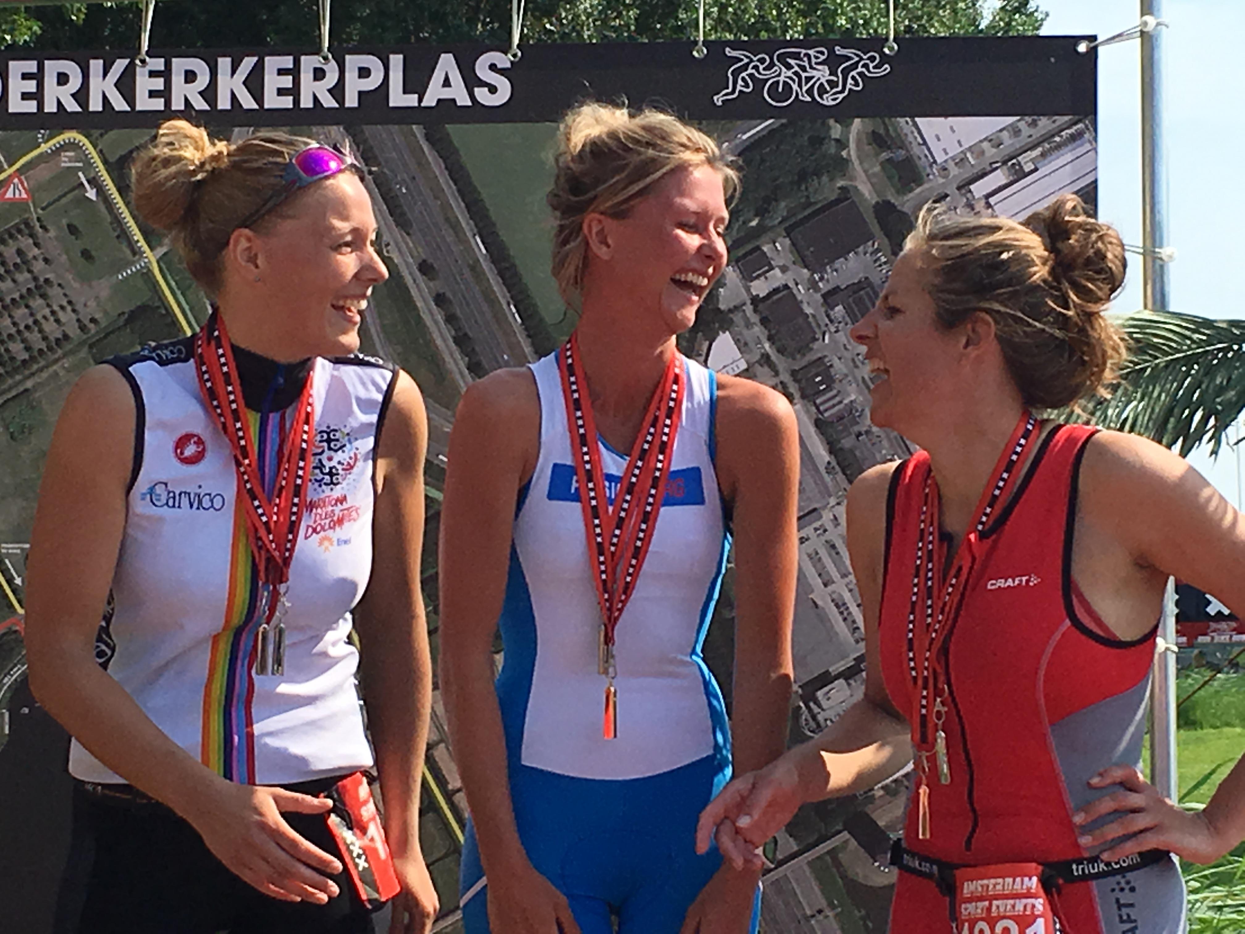 Triathlon Amsterdam, Sprint Distance, 1st